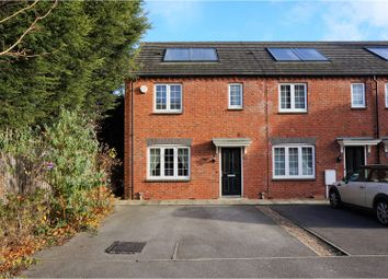 Thumbnail 3 bed end terrace house for sale in Beaumont Square, Nottingham
