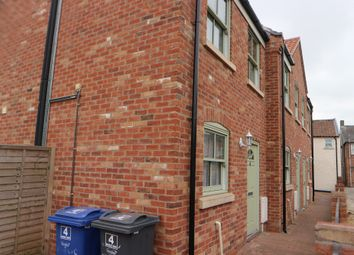 Thumbnail 2 bed town house for sale in Queen Street, Market Rasen