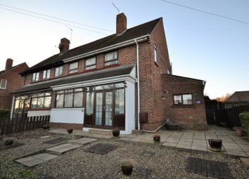 Thumbnail 3 bed semi-detached house to rent in Grove Road, Brandon, Durham