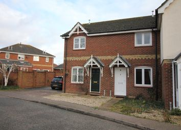 Thumbnail 2 bed terraced house to rent in Bulrush Close, Horsford, Norwich