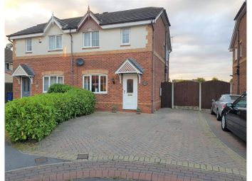 Thumbnail 3 bed semi-detached house for sale in Farlawns Court, Doncaster