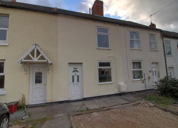Thumbnail 2 bed terraced house for sale in Central Road, Hugglescote, Coalville