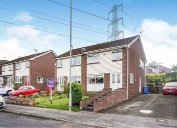 Thumbnail 3 bed semi-detached house for sale in Shearwater Road, Stockport
