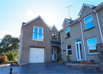 Thumbnail 4 bed detached house for sale in Poplars Road, Abergavenny