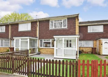 Thumbnail 2 bed terraced house for sale in Thorpe Walk, Parkwood, Gillingham, Kent