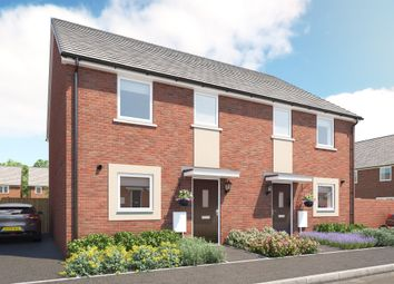 Thumbnail 3 bed terraced house for sale in Nicolson Vale, Old Sarum, Salisbury