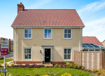 Thumbnail 4 bedroom link-detached house for sale in Byfords Way, Watton, Thetford