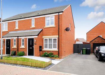 Thumbnail Semi-detached house for sale in Adlington Close, Hampton Gardens, Peterborough