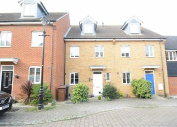 Thumbnail 4 bed town house for sale in Medbree Court, Orsett Village, Essex