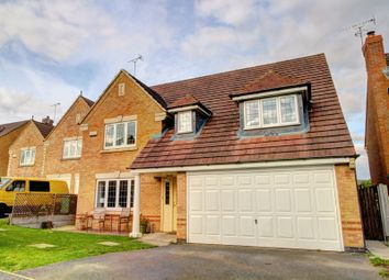Thumbnail 4 bed detached house for sale in Siskin Close, Rugby