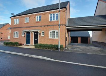 Thumbnail 3 bed semi-detached house for sale in Pritchard Drive, Kegworth, Derby