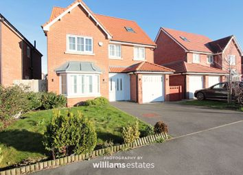 Thumbnail 5 bed detached house to rent in Cae Thorley, Rhyl