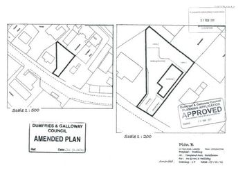 Thumbnail Property for sale in Plot Of Land At Templand Acre, Ecclefechan, Lockerbie, 0.
