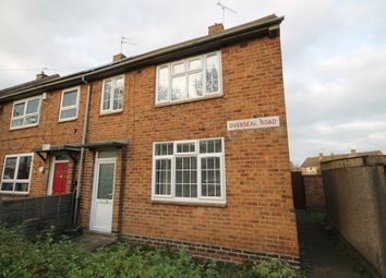 Thumbnail 3 bed semi-detached house to rent in Overseal Road, New Parks, Leicester