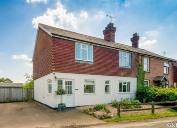 Thumbnail 4 bed semi-detached house for sale in Forstal Road, Egerton Ashford, Kent