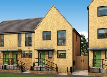 """Thumbnail 3 bedroom semi-detached house for sale in """"The Henson"""" at Arkwright Walk, Nottingham"""