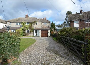 Thumbnail 4 bed semi-detached house for sale in Billericay Road, Brentwood