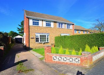 Thumbnail 3 bed semi-detached house to rent in Meadow Drive, Thorpe Willoughby, Selby
