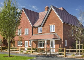 "Thumbnail 4 bed semi-detached house for sale in ""Irving"" at William Morris Way, Tadpole Garden Village, Swindon"