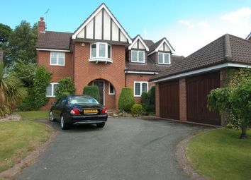Thumbnail 5 bed detached house for sale in Leighton Court, Neston