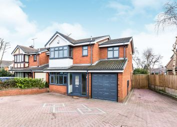Thumbnail 4 bed detached house for sale in Rawnsley Road, Hednesford, Cannock