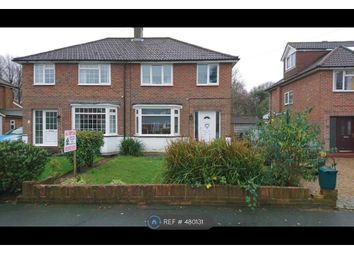 Thumbnail 3 bed semi-detached house to rent in Orpin Road, Merstham