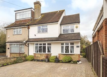 Thumbnail 4 bed semi-detached house for sale in Meadow View, Springwell Lane, Harefield, Uxbridge