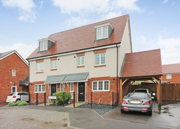 Thumbnail 4 bed semi-detached house to rent in Hyton Drive, Deal, Kent