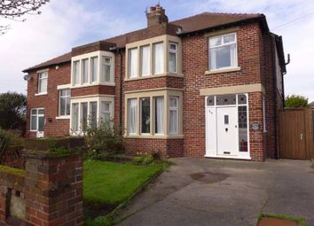 Thumbnail 3 bed semi-detached house for sale in Rossall Grange Lane, Fleetwood