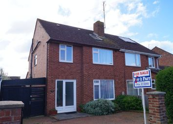 Thumbnail 4 bed semi-detached house for sale in Lynton Road, Hucclecote, Gloucester
