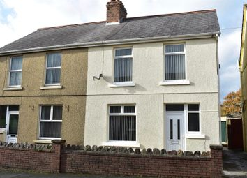 Thumbnail 2 bed semi-detached house for sale in Betws Road, Betws, Ammanford