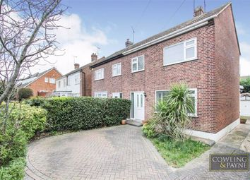 Thumbnail 3 bed semi-detached house to rent in Leasway, Wickford, Essex
