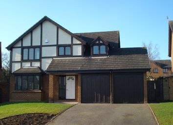 Thumbnail 4 bed detached house to rent in Rowallan Way, Priorslee, Telford
