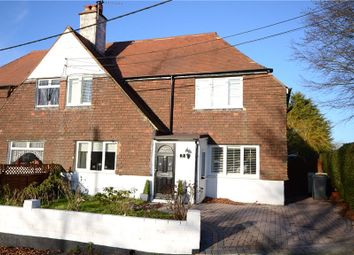 Thumbnail 3 bed semi-detached house for sale in The Street, Tongham, Farnham
