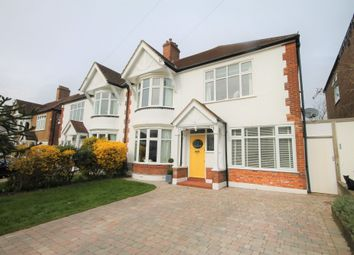 Thumbnail 4 bed semi-detached house for sale in Harwood Avenue, Bromley