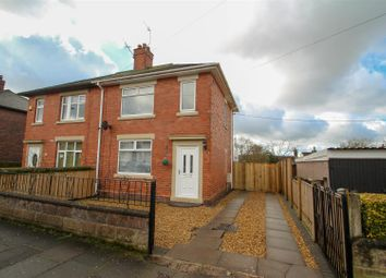 Thumbnail 2 bed semi-detached house for sale in Leveson Road, Hanford, Stoke-On-Trent