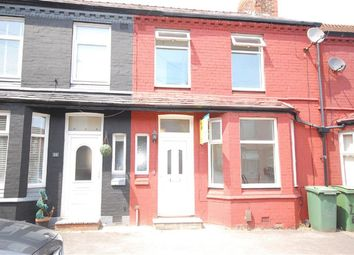 Thumbnail 3 bed terraced house to rent in Exeter Road, Wallasey, Merseyside
