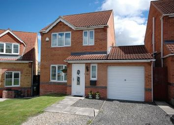 Thumbnail 3 bed detached house for sale in Celandine Way, Shildon
