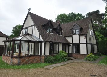 Thumbnail 5 bed detached house to rent in Maywood Drive, Portsmouth Road, Camberley