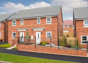 "Thumbnail 3 bedroom semi-detached house for sale in ""Folkestone"" at Cobblers Lane, Pontefract"
