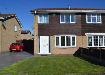 Thumbnail 3 bed semi-detached house for sale in Park Street, Newhall, Swadlincote