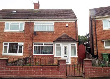 Thumbnail 2 bed semi-detached house to rent in Riddings Road, Sunderland