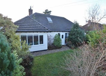 Thumbnail 4 bed detached bungalow for sale in Border Road, Heswall, Wirral