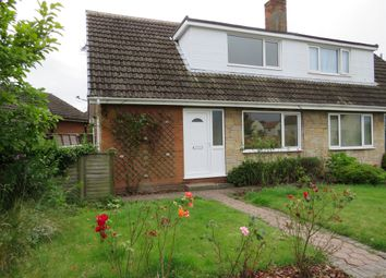 Thumbnail 4 bed semi-detached bungalow for sale in Hawthorn Drive, Barlby, Selby