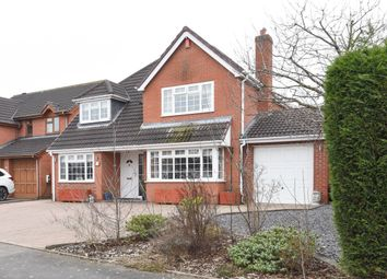 Thumbnail 4 bed detached house for sale in Kent Avenue, Fazeley, Tamworth