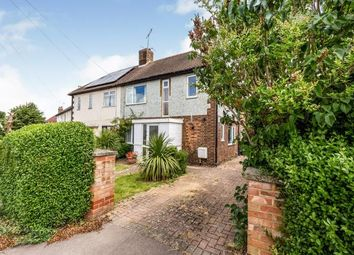 Thumbnail 3 bed semi-detached house for sale in Common Rise, Hitchin, Herts, England