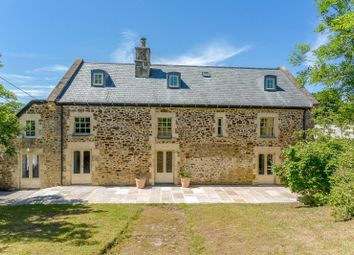 Thumbnail 7 bed country house for sale in Knowstone, South Molton, Devon