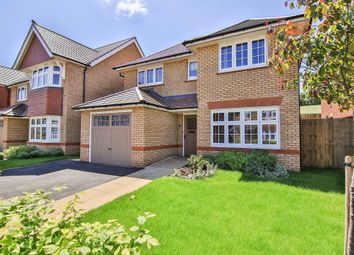 Thumbnail 4 bed detached house for sale in Burdons Close, The Grange, Wenvoe