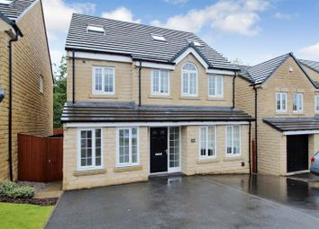 Thumbnail 5 bed detached house for sale in Plantation Drive, Bradford