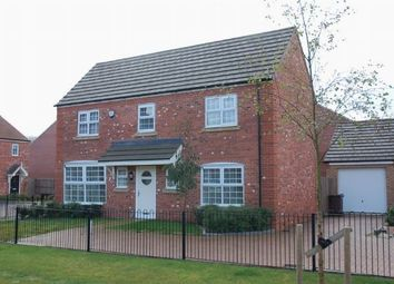 Thumbnail 4 bed detached house for sale in Spinney Close, Moulton, Northampton